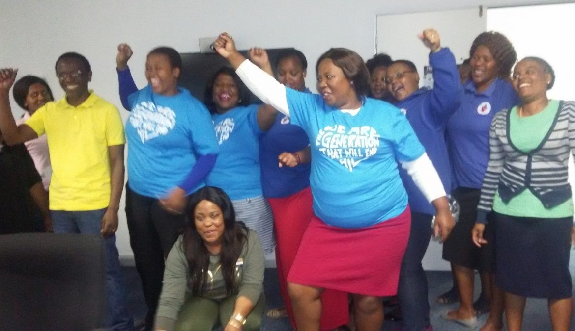 TB HIV Care Voices: Honing the mobilisation skills of our front-line community workers
